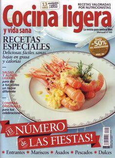 Revista mensual con multitud de recetas para una comida sana y variada