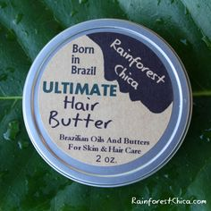 Ultimate Hair Butter - 2 oz - deep treatment, leave-in, natural hair, curls, chemically treated hair - free shipping