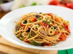 Pasta Puttanesca (Pasta with Olive Sauce)  Posted By Nava on Sep 1, 2013 in Pasta Entrées, Pasta on the lighter side | 0 comments  Putta...
