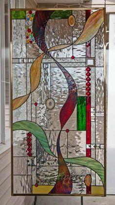 Fused Glass Art Sculpture Glass Art Christmas Ornament