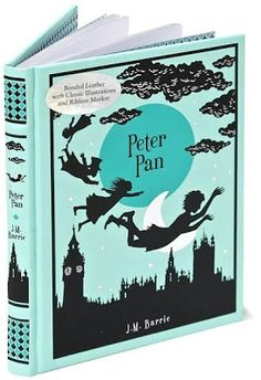 Peter Pan - Barnes and Noble leather bound kids' classics collections