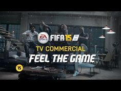 New FIFA 15 TV ad makes you feel the thrill of the game from the gamers' perspective. Watch it on high volume :)