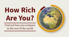 How Rich Am I?  Compare your income to the worldwide median income and see how you can give!