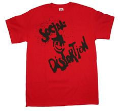 Social Distortion Happy Face T-Shirt X-Large