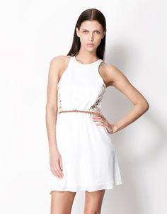 Bershka Georgia - BSK belted dress