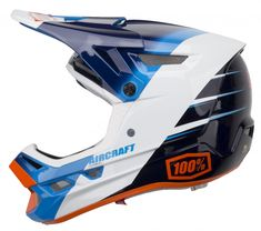 100% Aircraft MIPS Downhill Helmet R9 Ocean