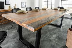Masculine Office Decor, Masculine Living Rooms, Masculine Interior, Luxury Dining Tables, Solid Wood Table Tops, Fired Earth, Living Room Decor, Dining Room, Interior Decorating