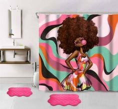 12 best shower curtain images bathroom ideas bathroom shower rh pinterest com Rope Bathroom Set African Bedroom Set