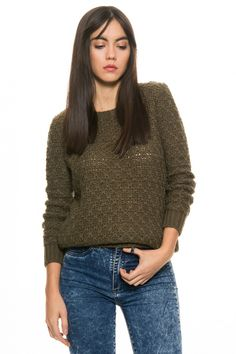 Sweater Ruth - Verde en DeluxeBuys!