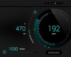 Rimac Concept_One Car Dashboard