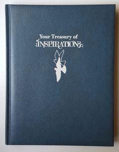 1970-Padded-Hardcover-Your-Treasury-of-Inspiration-Daily-Inspiration-Enjoymt