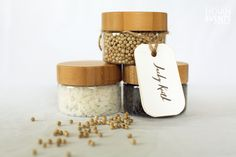 locally sourced, Organic salts, bath salts and spices, customised to your theme as wedding favours Wedding Gifts For Guests, Wedding Favours, Rustic Wedding, Our Wedding, Destination Wedding, Guest Gifts, Welcome Bags, Hoi An, Bath Salts