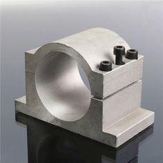 80mm Diameter CNC SpindlE-mount Bracket Clamp with 3pcs Screws