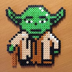 Yoda - Star Wars hama beads by __saariiiii__
