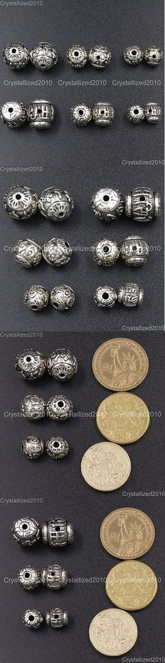Metals 179269: Vintage Patterned Tibetan Silver Spacer Connector Charm Beads 3 Hole Tibet Guru -> BUY IT NOW ONLY: $56.9 on eBay!