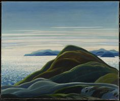 North Shore, Lake Superior - Franklin Carmichael, Canadian Group of Seven Tom Thomson, Emily Carr, Group Of Seven Art, Group Of Seven Paintings, Canadian Painters, Canadian Artists, Abstract Landscape, Landscape Paintings, Landscapes