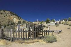 One interesting place....the wild west cemetary in Virgina City, Nevada...oh, and when the full moon rises over the dry hills.....