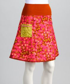 Take a look at this Pink Cherries Jubilee Skirt - Women by Art & Soul Boutique by Bercot on #zulily today!