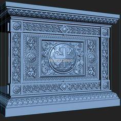 7pcs/lot High quality New 3D model for cnc 3D carved figure sculpture machine in STL file Altar #Affiliate