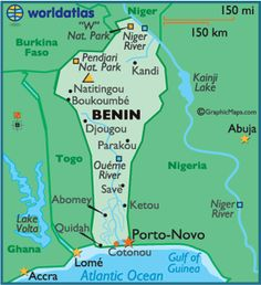 1 Nearby Benin are Lake Volta, the Atlantic Ocean, the Gulf of