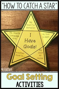 Goal Setting Activities: How To Catch A Star — CounselorChelsey - The book How To Catch A Star will help you talk about growth mindset, goal setting and perseverance - Growth Mindset Lessons, Growth Mindset Activities, Elementary School Counseling, School Counselor, Elementary Schools, Goal Setting Activities, Importance Of Time Management, Counseling Activities, Leadership Activities