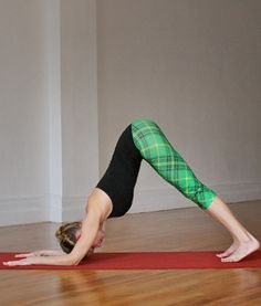 Hold yourself upside down in one of the easier (but still challenging) inversion yoga poses with this easy how-to