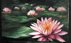 Have you ever been to a flower garden or a lake with lily pads and water lilies and wondered how you would paint them? Watch Kevin as he shows you how to paint this detailed water lily with highlights and shadows that make the lily the feature of the painting. For more information about full length DVD lessons and brushes, please visit: www.paintwithkevin.com