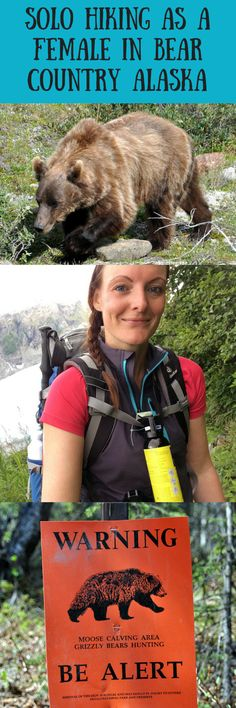 Solo hiking as a female in bear country Alaska -> do or don't? And would you do it?