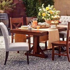Mahogany Verona Trestle Table Trestle Tables Verona And