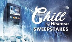 Check out this Sweepstakes! Win a Hisense Chill Home Beverage Dispensing Machine!