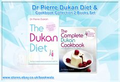 Dr Pierre Dukan Diet & Cookbook Collection 2 Books Set. Shop now at http://ebay.eu/1C9S8hO. #Dukan‬ #DukanDiet ‪#DietBooks‬ #BookCollection‬ ‪#Books