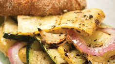 Grilled Zucchini and Summer Squash, from Our Ohio. The savvy cook knows that this vegetable is one of the most versatile and nutritious and its bland flavor and creamy texture does a good job of highlighting spices and seasonings.