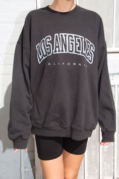 Erica Los Angeles Sweatshirt - Sweaters - Clothing - Erica Los Angeles Sweatshirt Source by babyvvv - Retro Outfits, Short Outfits, Trendy Outfits, Fashion Outfits, Sweatpants Outfit, Sweatshirt Outfit, Vintage Crewneck Sweatshirt, Graphic Sweatshirt, Cute Comfy Outfits