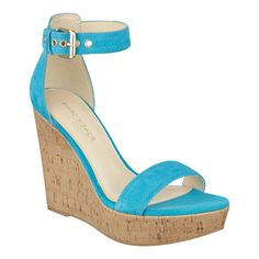 712e55c3ade Heart Two Piece Wedge Sandal - Marc Fisher - Shop