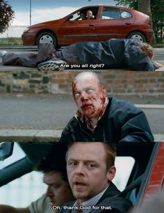 Shaun of the Dead.... One of my favorite scenes