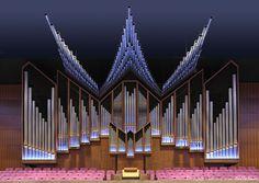 Rotterdam Concertgebouw De Doelen- Flentrop orgel - 1967