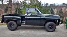 1977 Chevy C-10 Scottsdale stepside 4x4 Chevy K10, Chevy Pickups, Chevrolet Trucks, Chevrolet Silverado, Lifted Trucks, Cool Trucks, Chevy Trucks, Pickup Trucks, Motor Vehicle