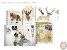 Sketchbook-pages Eleanor Longhurst.