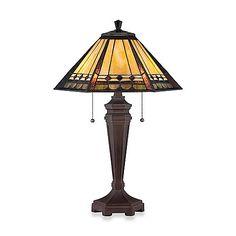 Quoizel®  Arden Tiffany 2-Light Table Lamp $164.99
