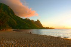 While Maui is known for having the best Hawaiian sunsets, this picture from Kauai puts up a good defense!