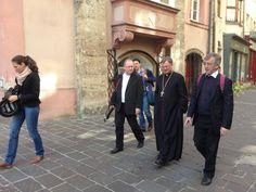 Die Reinisch-Reisenden mit Bischof Manfred Scheuer