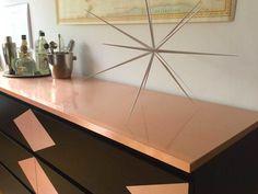 Copper Triangle + Ikea Malm Dresser Hack | CAROLE + ELLIE