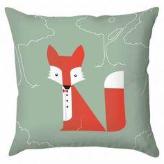Capa para almofada fox.