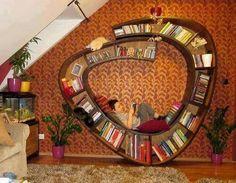 Cantinho de leitura Bookshelf Plans, Bookshelves, Simple Bookshelf, Bookshelf Ideas, Gamer Room, Book Nooks, Reading Nooks, My Dream Home, Diy Furniture
