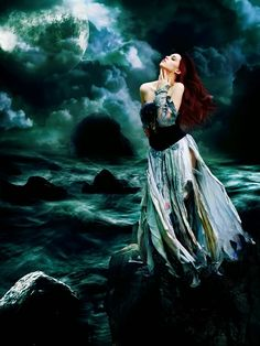 """""""The light of the Storm Moon will nourish your soul bringing the rains to cleanse you, and the courage to begin anew.""""  - Jasmeine Moonsong"""