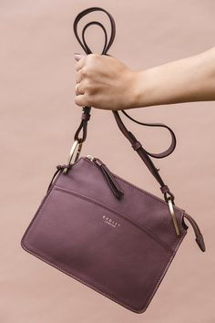 ddf852cc070d3 Shop our leather Richmond Park cross body bag