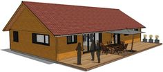 Cheap House Plans, Cheap Houses, Shed, Outdoor Structures, How To Plan, House Styles, Home Decor, Houses, Decoration Home