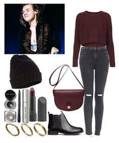 """Pumpkin Picking with Harry"" by kennedey-lynn-freeman ❤ liked on Polyvore featuring Topshop, H&M, Mulberry, Made, Bite, Accessorize and Bobbi Brown Cosmetics"