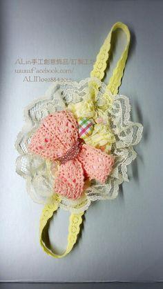 甜心Baby手作-髮飾頭帶(彌月禮盒) 自用送禮兩相宜,歡迎預約訂製 https://www.facebook.com/ALIN0928842012