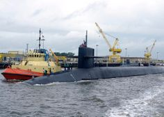 The submariners on an Ohio-class fleet ballistic missile submarine spend, on average, 77 days at sea, followed by 35 days in-port for maintenance. #Navy #USNavy #AmericasNavy navy.com